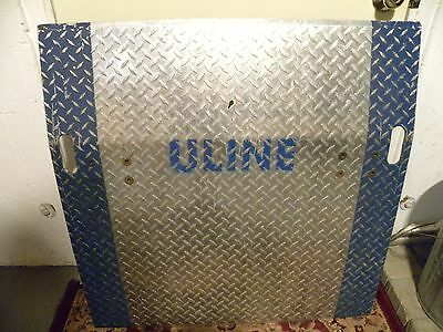 """Dock Plate 36"""" X 36"""" Distributed by Uline (H-1285)"""