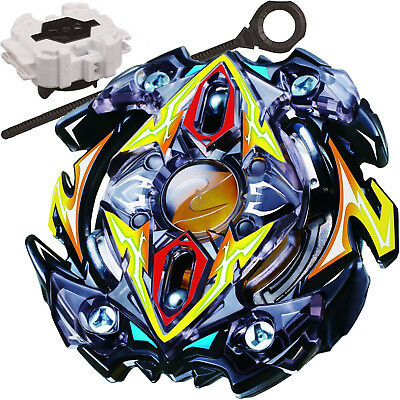 Zillion Zeus / Zeutron Burst Beyblade STARTER SET w/ Launcher B-59 - USA SELLER!