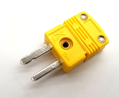Type K Thermocouple Mini Connector  Plug  , Flat Pin