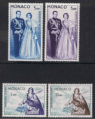 MONACO 1960 ROYAL COUPLE & St DEVOTE AIR MAIL
