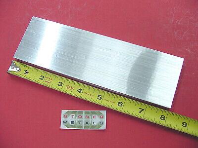 "3/8"" x 2-1/2"" ALUMINUM 6061 FLAT BAR 8"" long T651 .375 Plate Mill Stock"