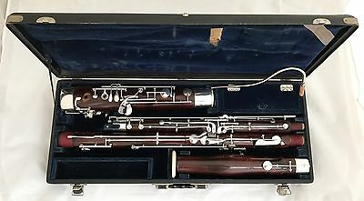 G.Mollenhauer & Sohne Kassel German Bassoon high D,11 Rollers-complete restored