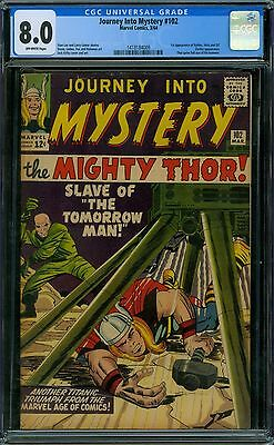 Journey Into Mystery 102 CGC 8.0 - OW Pages