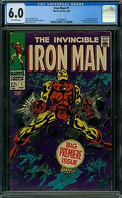 Iron Man 1 CGC 6.0 - OW Pages