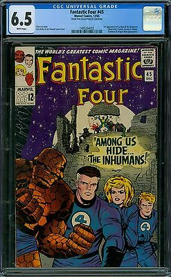Fantastic Four 45 CGC 6.5 - White Pages