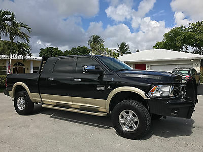 2011 Ram 2500 LARAMIE LONG HORN 2011 Ram 2500 Diesel Laramie Long Horn 4x4 MEGA CAB LOADED EXTRAS Low MILES