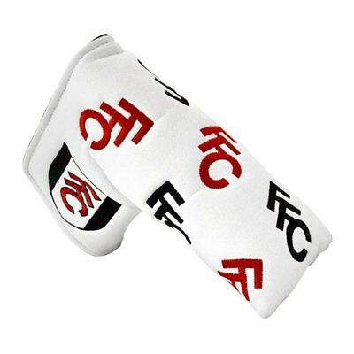 Fulham F.C. Fulham - Funda de putter de golf, color blanco