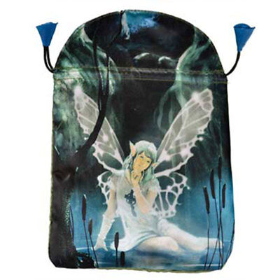 """NEW Celtic Fairy Tarot Bag 6x9"""" Lo Scarabeo Fully Lined Satin Drawstring Pouch"""