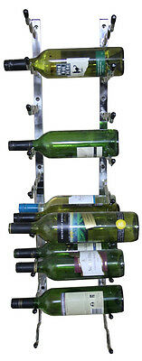 Steel Wall mounted  Wine Storage Rack - 27 bottles per wall rack - seconds