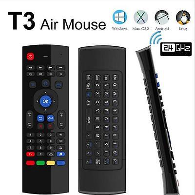 Android TV Box Wireless Remote Control Keyboard Air Mouse 2.4ghz for KODI PC K=