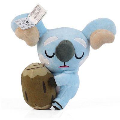 Pokemon Center Komala Plush Doll Toy Soft Stuffed 8 inch Figure Collection Gift