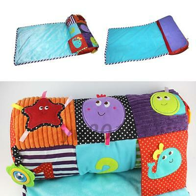 Multicolor Multifunctional Infant Baby Toddlers Climbing Play Mat Plush Pillow