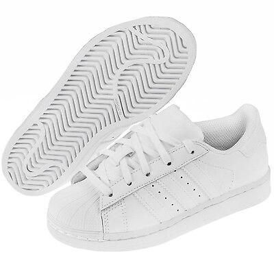 online retailer 2cd77 765fd ADIDAS SUPERSTAR MONO White BA8380 Leather Preschool KIDS Shoes