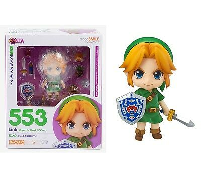 NEW Nendoroid The Legend of Zelda Link Majora's Mask 3D Figure With Original Box