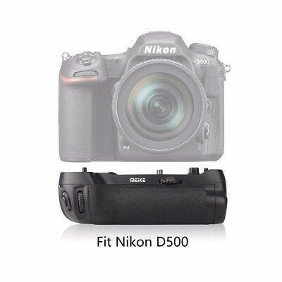 AU Meike MK-D500 Vertical Battery Grip Shooting for Nikon D500 Camera as MB-D17