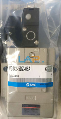 1PC New SMC VG342-5DZ-06A Solenoid Valve