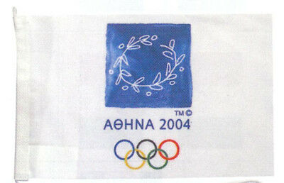 Athens 2004 Official Olympic Flag