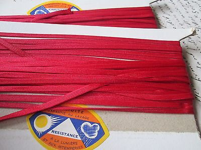 Vintage 3  piece from red small  silk for dolls-/France
