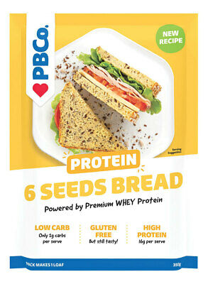 Protein Bread Mix - 6 Australia Seeds 350g - The Protein Bread Co