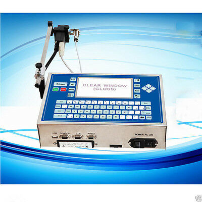 NEW Chinese industrial date code inkjet printers for plastic bottle S
