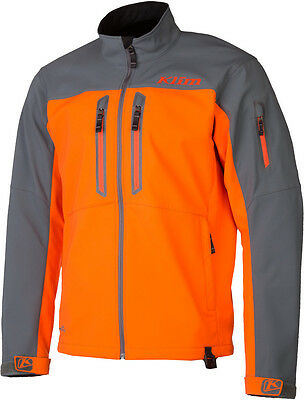KLIM Inversion Jacke Orange NEU MX Enduro Freizeit Softshell Jacke