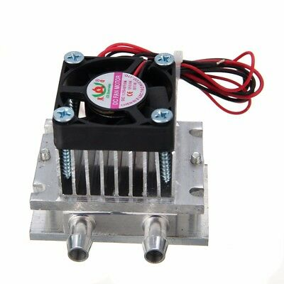 DIY Thermoelectric Peltier Module Water Cooler Cooling System Kit 60W TEC1-12706