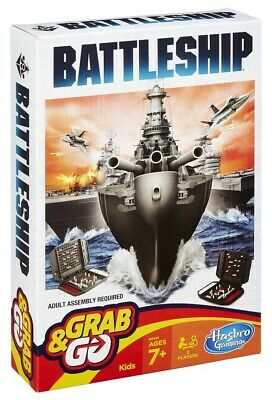 Battleship Grab and Go Game - Travel Size Game - NEW