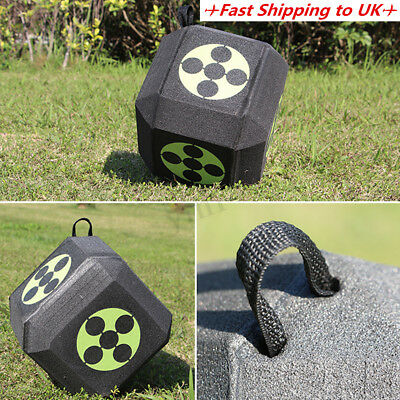 Archery 6 Sided Cube Self Healing Target Broadheads Recurve Compound Practice