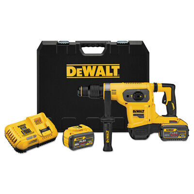 DeWalt DCH481X2 60V MAX FlexVolt 1-9/16 in. SDS-Max Combination Hammer Kit New