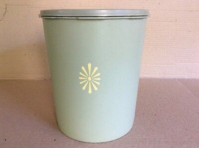 Tupperware VINTAGE SERVALIER (X -LARGE) OLIVE GREEN CANISTER with LID
