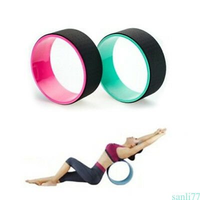 Yoga Wheel Balance Support TPE Cushion Backbends Prop Yoga Poses Stretching AXE
