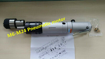 New M6-M24 Pneumatic motor for Pneumatic Tapping Machine M6 - M24 s