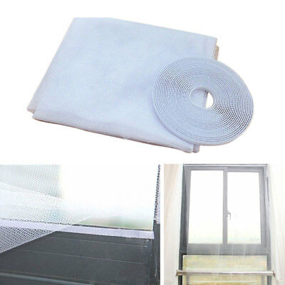Mesh Window Curtain Fly Insect Mosquito Snap Screen Insect Mosquito Screen Net