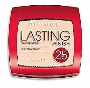 Rimmel Lasting Finish 25 Hour Waterproof Powder Foundation Light Porcelain 001