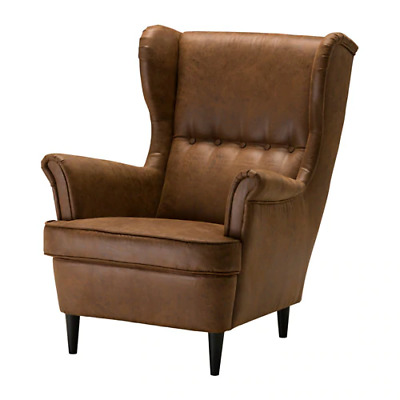 STRANDMON Wing chair, 10 year guarantee, High Back, Multiple colors availabl