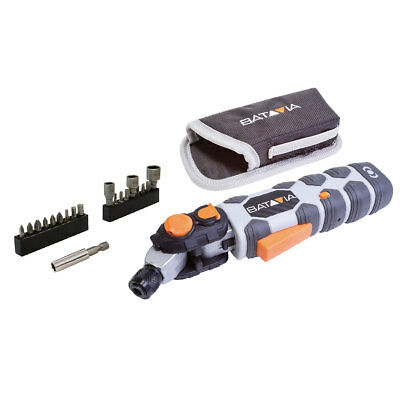 Batavia FLIPOUT 7.2v Jointed Precision Multi Functional Screwdriver &Accessories