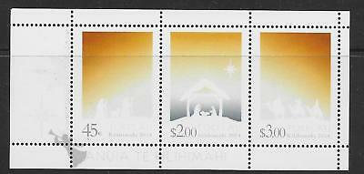Tokelau Islands Sg478/80 2014 Christmas Set Mnh
