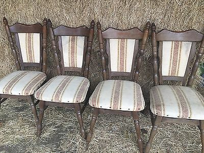 Vintage Dining Chairs (Set Of 4)