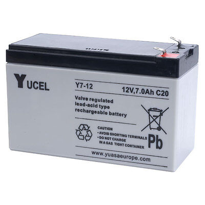 Yucel 7-12 Sealed Lead Acid Battery Suitable for some Bait Boats