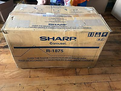 Sharp R-1875 850 Watts With Convection Cook Microwave Oven