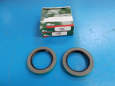 Chicago Rawhide Oil Seal, 17387, LOT OF 2