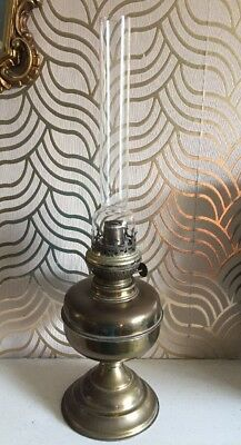 Great Old Kosmos Brenner Oil Lamp With Chimney