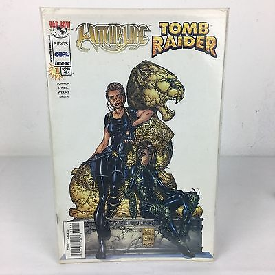 Withcblade / Tomb Raider Special Vol. 1, Issue 1 December 1998 TOP COW VGC