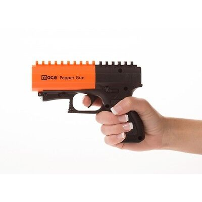 Pepper Gun 2.0 with Strobe LED, Black/Orange