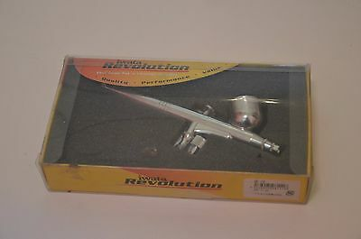 ANEST IWATA Revolution HP-CR AirBrush Gravity 0.5mm 7.0ml Japan New Package FAST