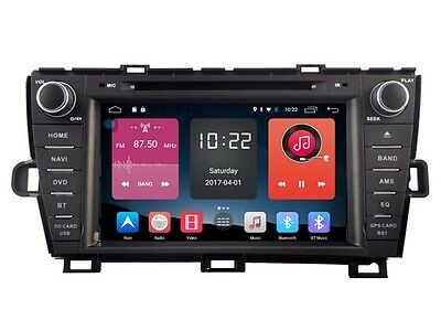 Android 6.0 Car DVD Player Navi Radio RDS WIFI BT GPS For TOYOTA PRIUS 2009-2014