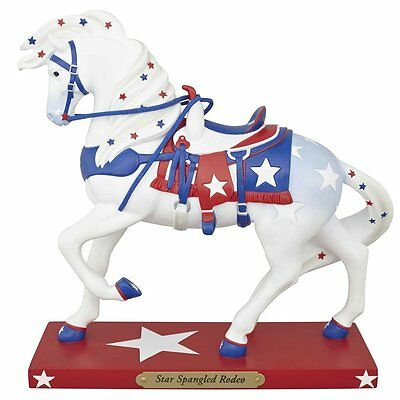 Enesco Trail Of Painted Ponies Figurine - STAR SPANGLED RODEO #4046344