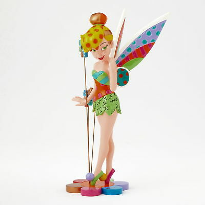 "ROMERO BRITTO - Enesco Disney Figur - ""Tinker Bell on Flower"" - Figur N° 4058182"