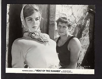 "1987 Celebrity Press Photograph Movie ""Heat Of The Summer"" Patricia Karim *3743"