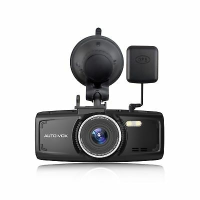Upgraded AUTO-VOX D1 Dash Cam With GPS Dashaboard Camera Full HD 1080P 2.7'' ...